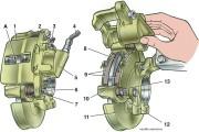 Как заменить передние тормозные колодки?