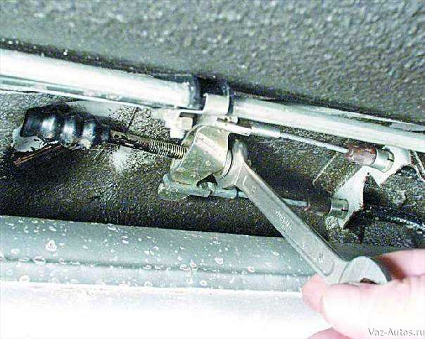 Схема ручного тормоза (фото