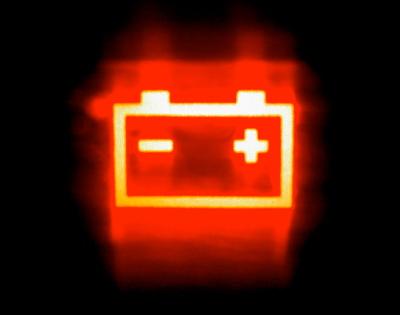 значок аккумулятора: