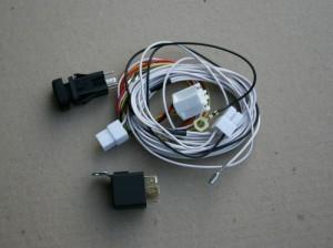 Реле с комплектом проводов