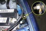 Где крепится «масса» двигателя? Почему двигатель работает нестабильно?