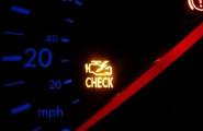 Загорается чек на скорости (е-газ) ошибка Р1335
