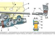 Регулятор давления тормозной системы