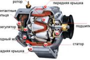 Как заменить генератор ВАЗ 2113, 2114, 2115