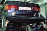 Замена заднего бампера на ВАЗ 2114, 2115