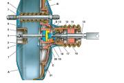 Вакуумный усилитель тормозов ВАЗ-2114, 2115, 2113