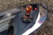 Замена лампы поворотника