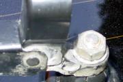 Как снять стеклоочиститель  заднего стекла (задний дворник)