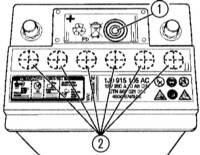 Определение уровня электролита