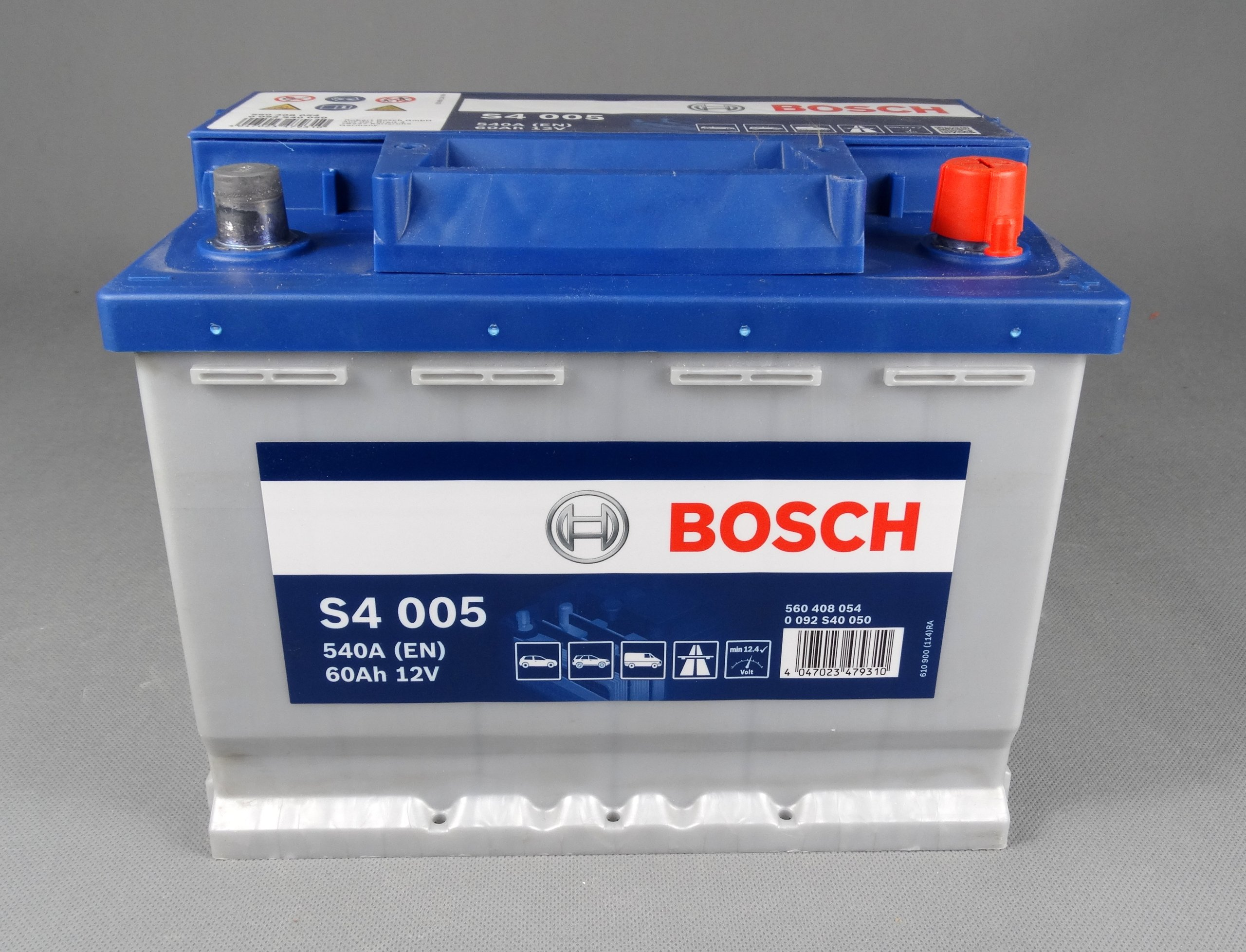Bosch S4 005 Silver 60 Ач 540A