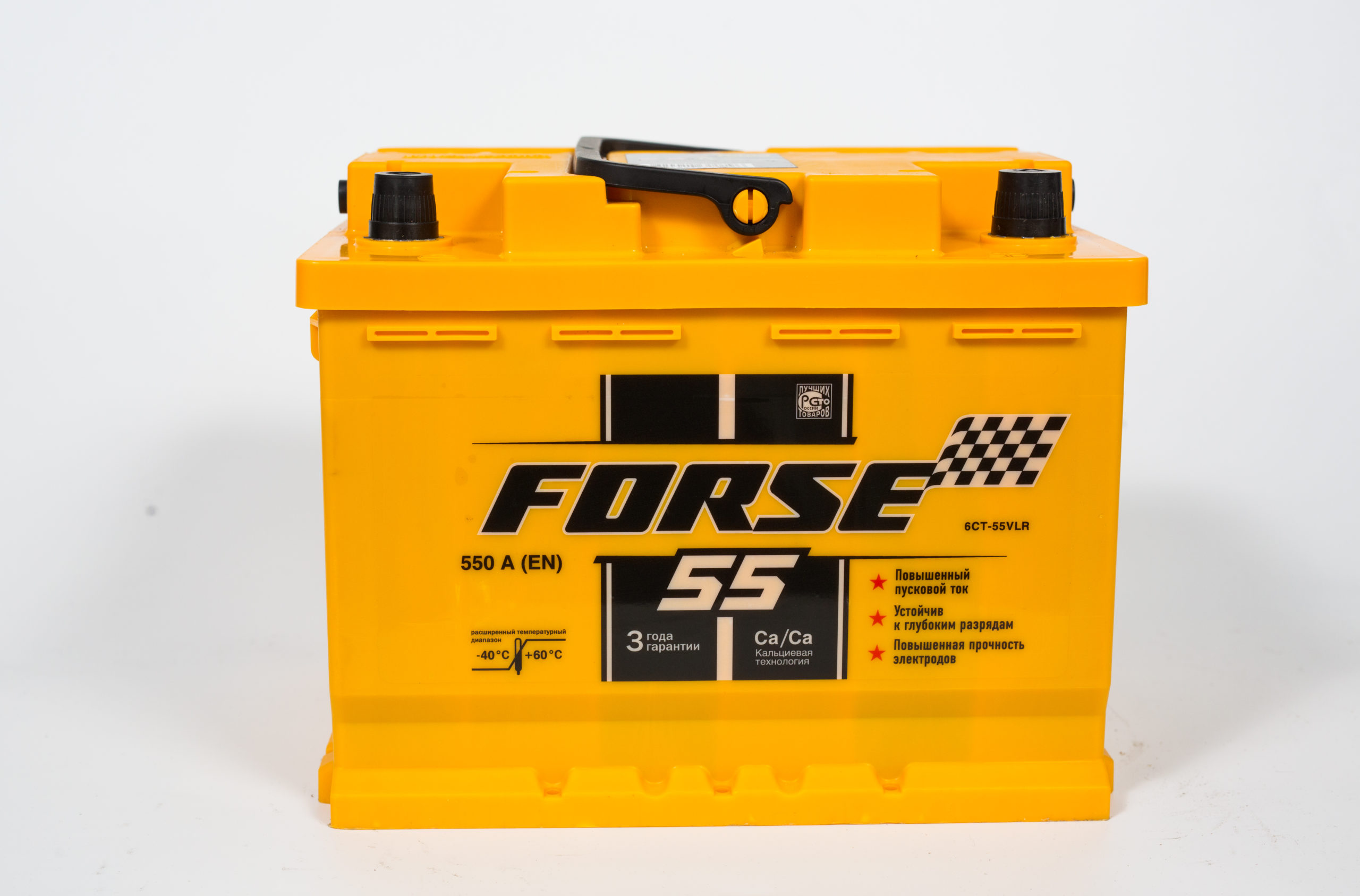 Forse 6CT-55 L+ 55 А*ч 530А