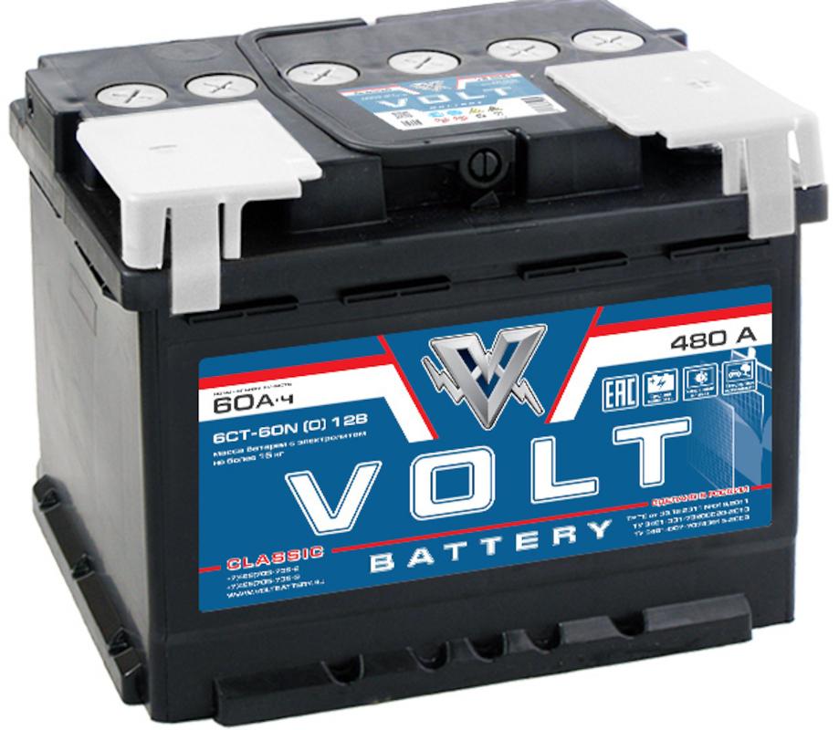 VOLT CLASSIC 6CT-60.1 60 Ач